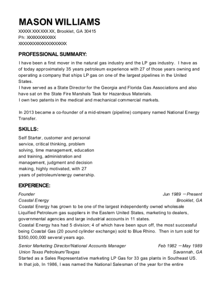 Best National Accounts Manager Resumes | ResumeHelp