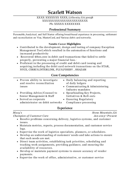 how to include secondment in resume