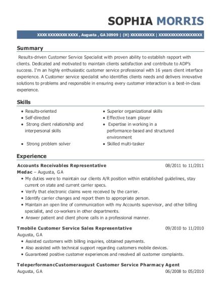 walmart pharmacy sales associate resume sample