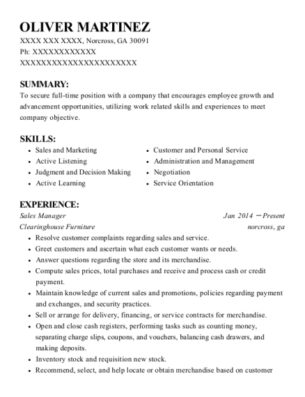 Quiktrip Relief Assistant Manager Resume Sample - St. Peter\'s ...