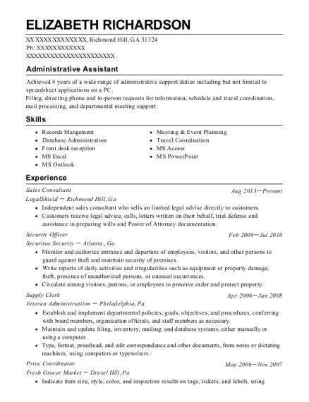 Best Price Coordinator Resumes ResumeHelp