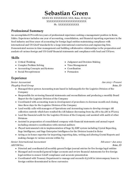 Superb View Resume