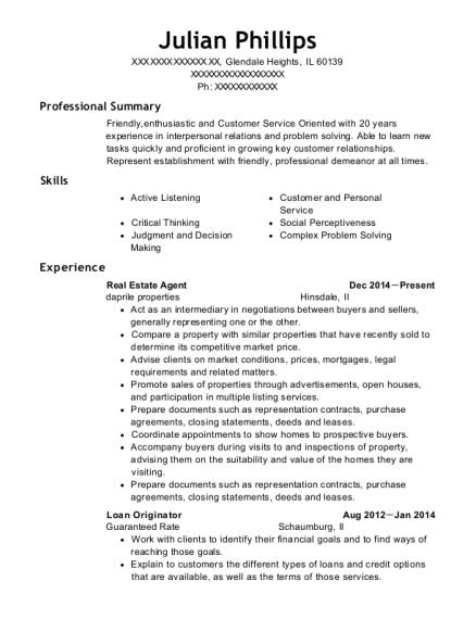 view resume - Mortgage Broker Resume Sample