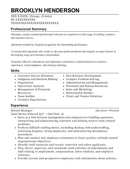 Best Senior Staffing Coordinator Resumes   ResumeHelp