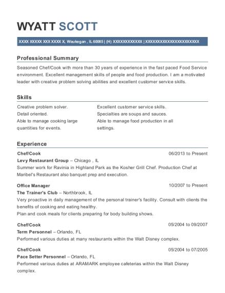 general manager resume