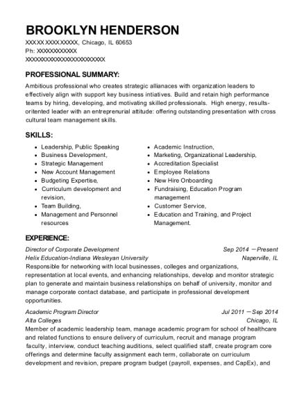 Best Director Of Corporate Development Resumes | ResumeHelp