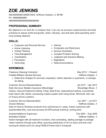Best Assisant Mailroom Supervisor Resumes ResumeHelp - Mailroom supervisor resume
