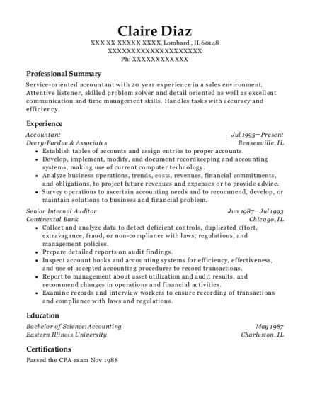 best senior internal auditor resumes resumehelp