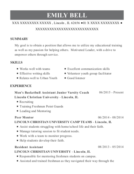 Communications Assistant Resume samples