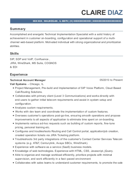 best technical account manager resumes resumehelp