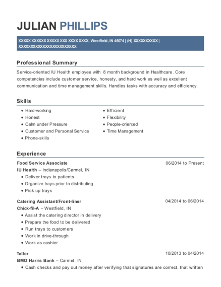 Catering Assistant , Lawncare Assistant. Customize Resume · View Resume