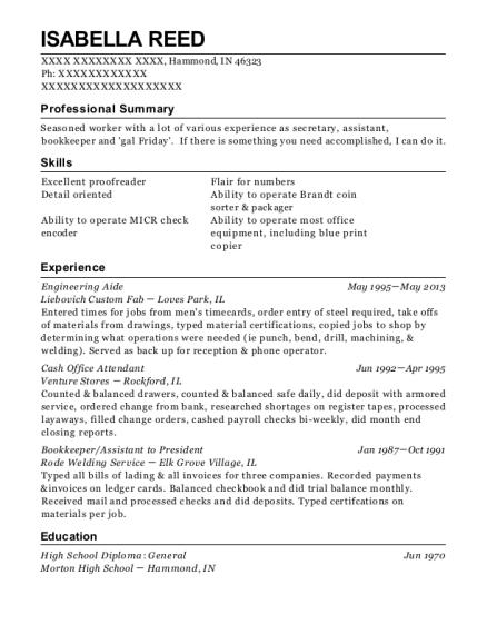 Best Engineering Aide Resumes | ResumeHelp