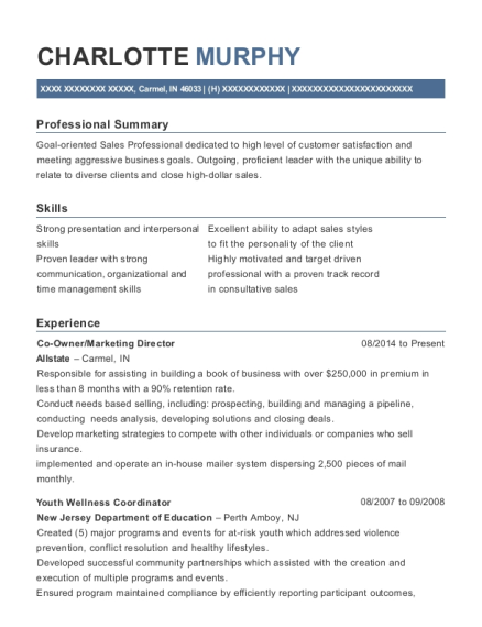 ... Wellness Coordinator. Customize Resume · View Resume