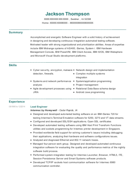 Exacta Corporation Us Bank Senior Programmer Analyst Resume Sample