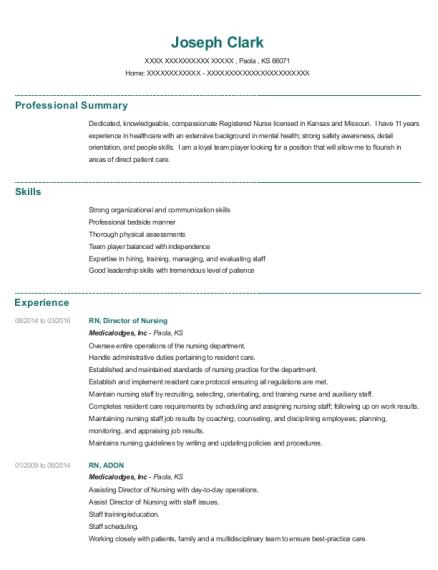 Best Mds Coordinator/care Plan Manager (lpn/rn) Resumes | ResumeHelp
