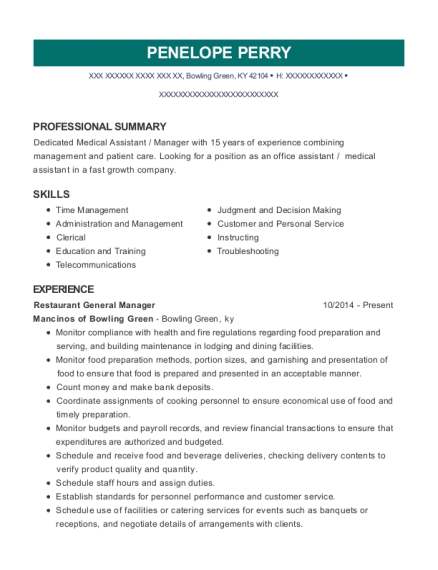 People Also Search For Customize Resume View Restaurant General Manager