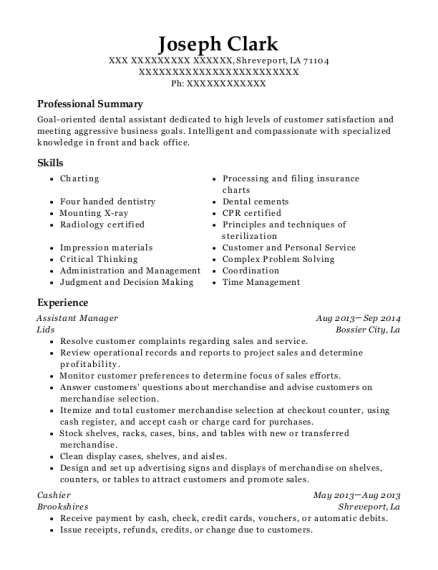 Best Assistant Catering Manager Resumes | ResumeHelp