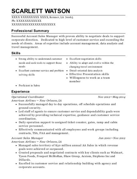 Best Account Sales Manager Resumes | ResumeHelp