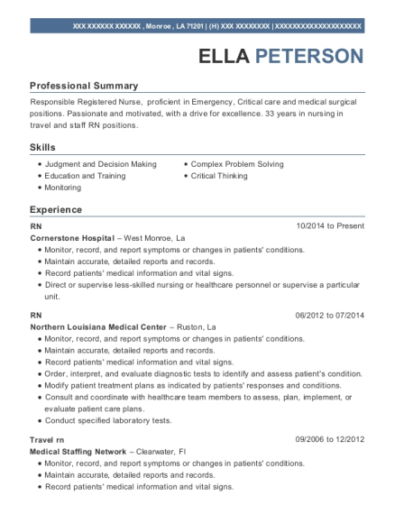 best nursing resumes
