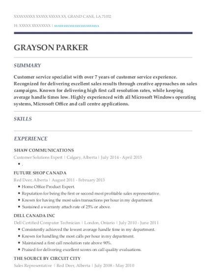 Best Dell Certified Computer Technician Resumes   ResumeHelp