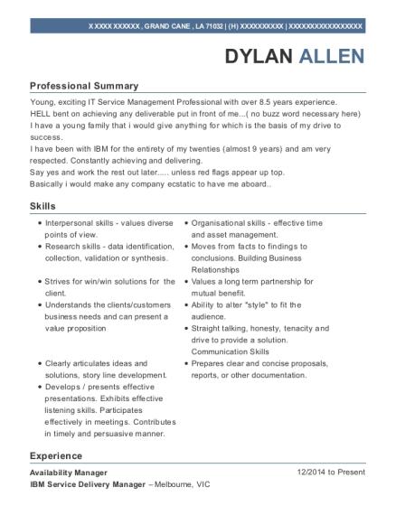 Best Problem Manager Resumes | ResumeHelp
