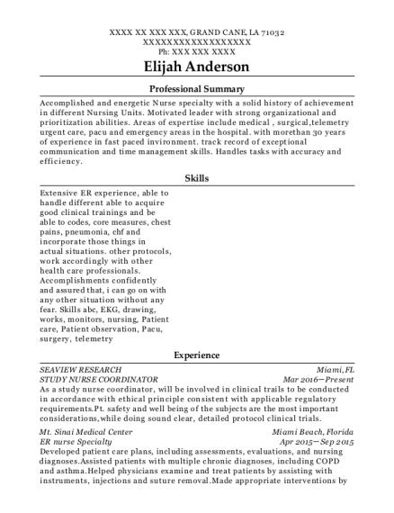 Best Urgent Care Nurse Resumes | ResumeHelp