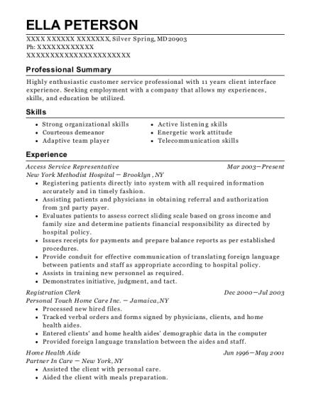 Best Registration Clerk Resumes | ResumeHelp