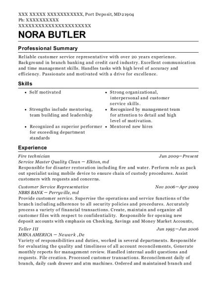 View Resume. Fire Technician