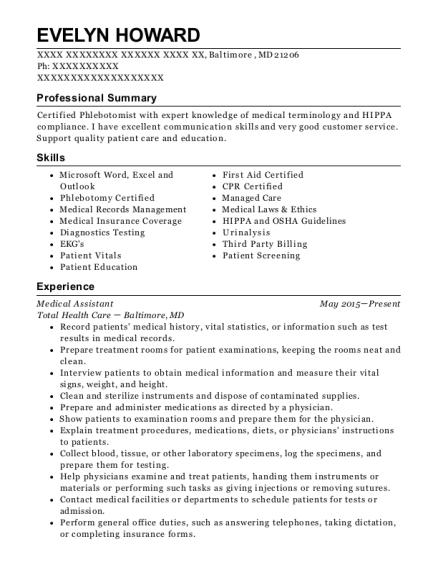 Best Medical Assistant (externship) Resumes | ResumeHelp