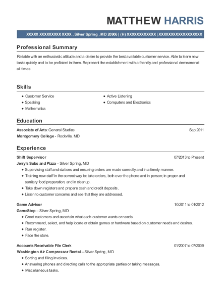 Colorful Gamestop Manager Resume Elaboration   Best Resume Examples .