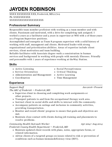 ... Community Health Outreach Worker. Customize Resume · View Resume