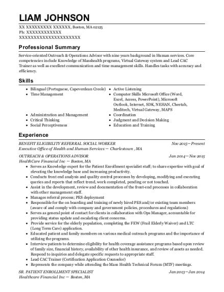 best patient enrollment specialist resumes resumehelp