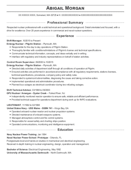 Best Shift Technical Advisor Resumes | ResumeHelp