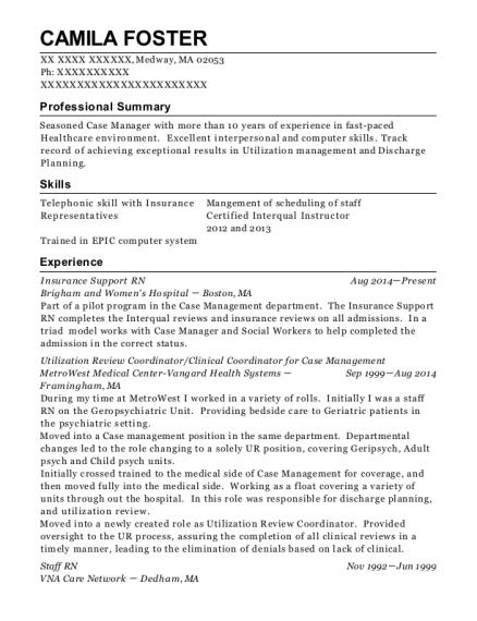 Best Utilization Review Coordinator Resumes | ResumeHelp