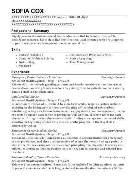 best ideas of professional profile for medical assistant resume
