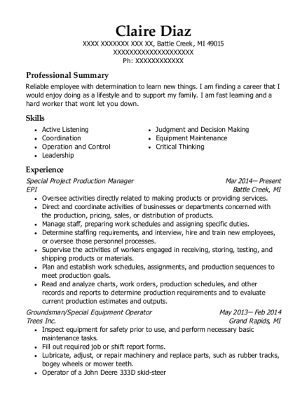 best resumes in michigan