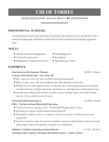 best professional basketball player resumes resumehelp