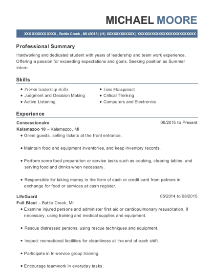Best Concessionaire Resumes | ResumeHelp