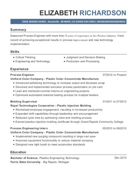 Best Molding Supervisor Resumes | ResumeHelp