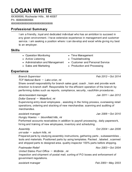 best store assistant manager resumes resumehelp