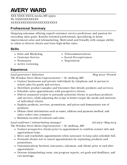Best Canvasser Resumes | ResumeHelp