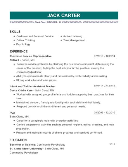 Best Pca Resumes in Minnesota | ResumeHelp