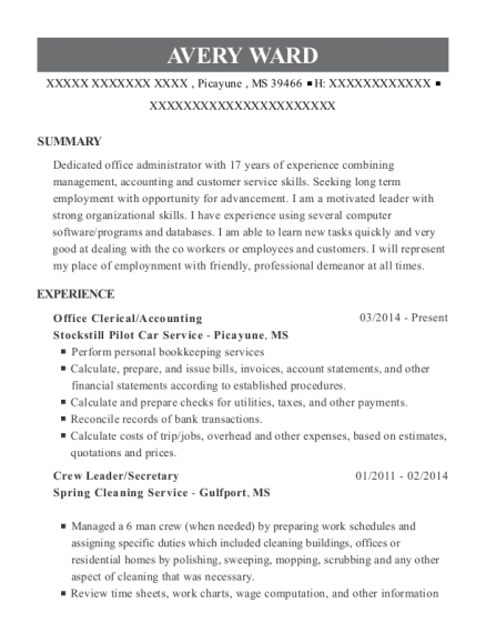 Legal secretary resume help