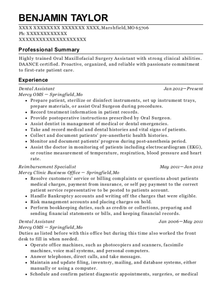 Great View Resume