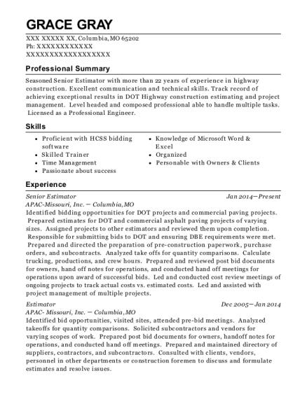 Best Senior Construction Inspector Resumes | ResumeHelp