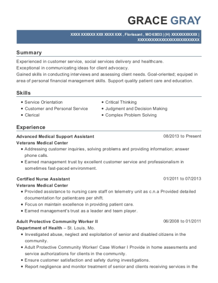 advanced medical support assistant health administrative services orlando customize resume view resume