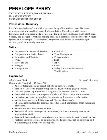 Self Employed Farmer Farming Resume Sample - Clio Iowa | ResumeHelp