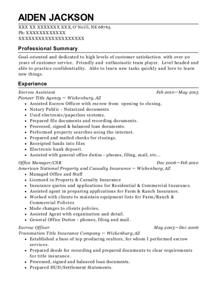 Customize Resume · View Resume