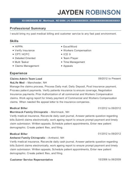 Superior View Resume