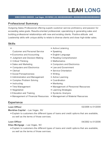 Loan Officer Assistant , Loan Processor And Transaction Coordinator.  Customize Resume · View Resume